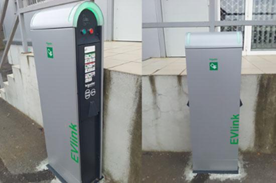borne électrique en France